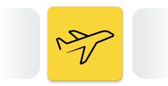 Flight Tracking Mobile App Icon
